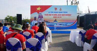 200 đại biểu thanh niên tham gia hành trình đến Trường Sa