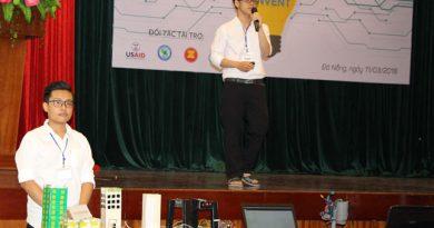 Mô hình giao thông thông minh của học sinh trường THPT Phan châu Trinh Đà Nẵng