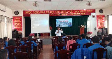 Quận Đoàn Hải Châu tập huấn huấn công tác vận động đoàn viên thanh niên  và cách thức sử dụng mạng xã hội cho cán bộ, ĐVTN