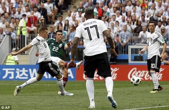 """Đức thất bại trước Mexico: """"Cú sốc"""" đầu tiên của World Cup 2018"""
