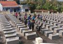 Đoàn xã Hòa Phong và công tác chăm sóc nghĩa trang Liệt sĩ