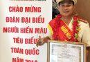 Đại úy Hồ Đức Trí – gương mặt tiêu biểu trong phong trào hiến máu tình nguyện