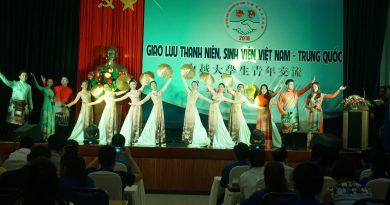 Giao lưu thanh niên 2 nước Việt Nam – Trung Quốc tại thành phố Đà Nẵng