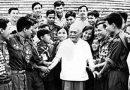 Chủ tịch Tôn Đức Thắng, một nhà lãnh đạo mẫu mực của Đảng, của dân tộc ta.