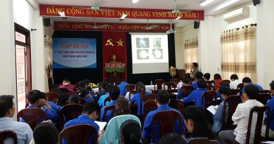 Tập huấn kỹ thuật trồng, chăm sóc và xử lý bệnh hại trên nấm bào ngư cho đoàn viên, thanh niên