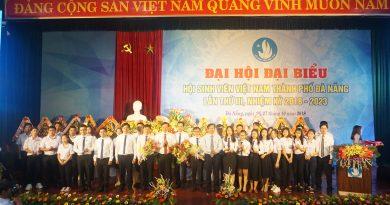 Đại hội đại biểu Hội sinh viên thành phố Đà Nẵng lần thứ III, nhiệm kỳ 2018-2023