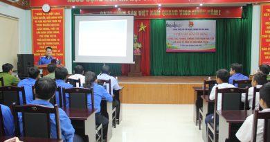 Thành Đoàn tổ chức Tuyên truyền lưu động về phòng chống tội phạm ma túy cho thanh niên