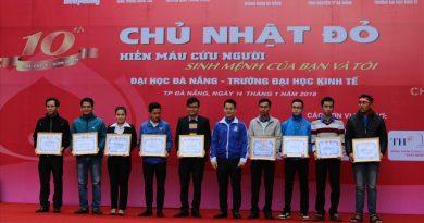 Hiến máu nhân đạo, nghĩa cử cao đẹp của đoàn viên, thanh niên Đà Nẵng