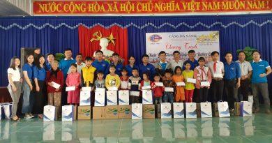 """Đoàn thanh niên Cảng Đà Nẵng tổ chức """"Chương trình Xuân yêu thương"""""""