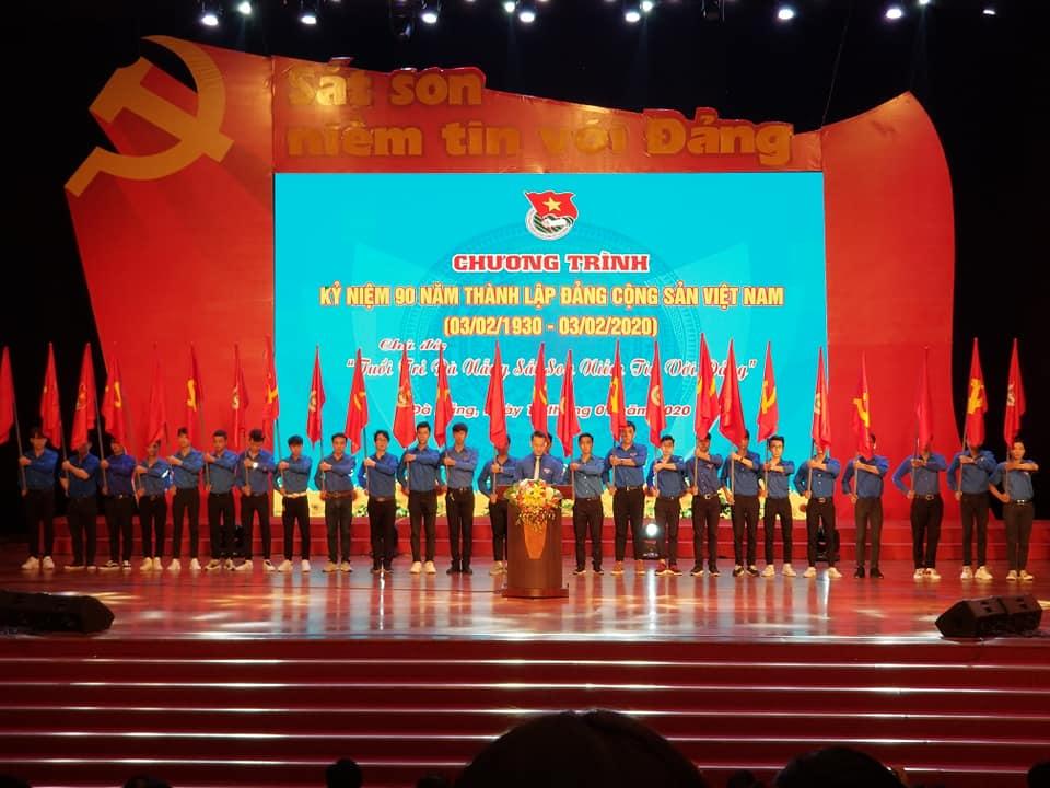 """Lễ Kỷ niệm 90 năm Ngày thành lập Đảng Cộng sản Việt Nam với  chủ đề """"Tuổi trẻ Đà Nẵng sắt son niềm tin với Đảng"""""""