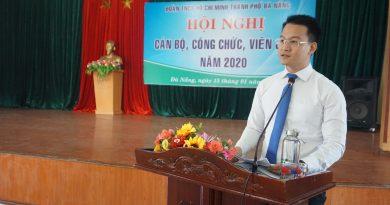 Hội nghị Cán bộ Công chức, viên chức Cơ quan Thành Đoàn Đà Nẵng