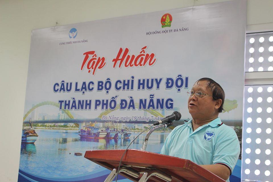 Hội đồng Đội thành phố phối hợp với Cung Thiếu nhi Đà Nẵng tổ chức khai mạc tập huấn CLB Chỉ huy Đội thành phố Đà Nẵng năm 2020