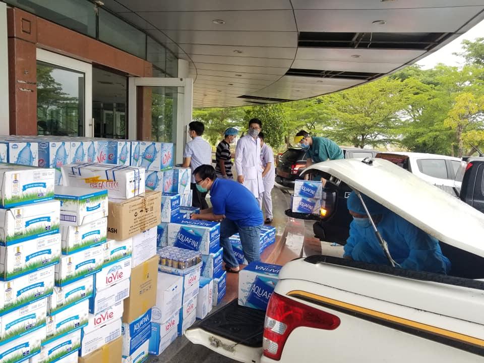 Chương trình hỗ trợ vật tư y tế, nhu yếu phẩm phục vụ công tác phòng chống đại dịch Covid-19 cho bệnh viện Ung bướu Đà Nẵng