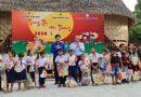 """Thành Đoàn phối hợp tổ chức Chương trình """"Trung thu yêu thương"""" cho các em thiếu nhi người Cơtu, huyện Hòa Vang"""