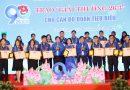 """Lễ kỷ niệm 90 năm ngày thành lập Đoàn TNCS Hồ Chí Minh và trao  """"Giải thưởng 26/3"""" năm 2021"""