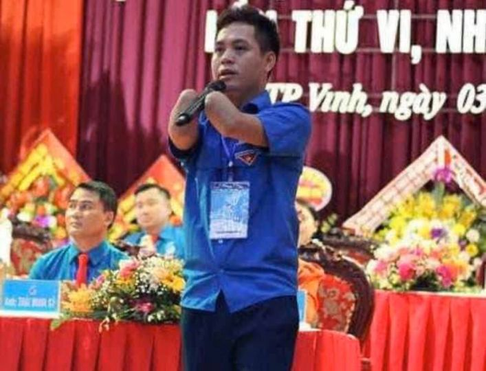 Nghị lực phi thường của thanh niên Lê Văn Tuấn.