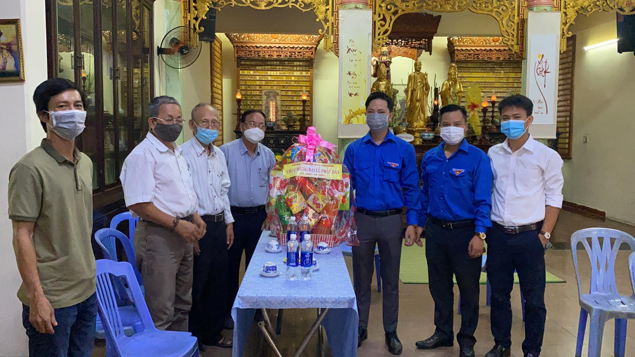 Quận Đoàn – Hội LHTN quận Thanh Khê: Chúc mừng tăng ni, phật tử nhân đại lễ Phật đản 2021 – Phật lịch 2565