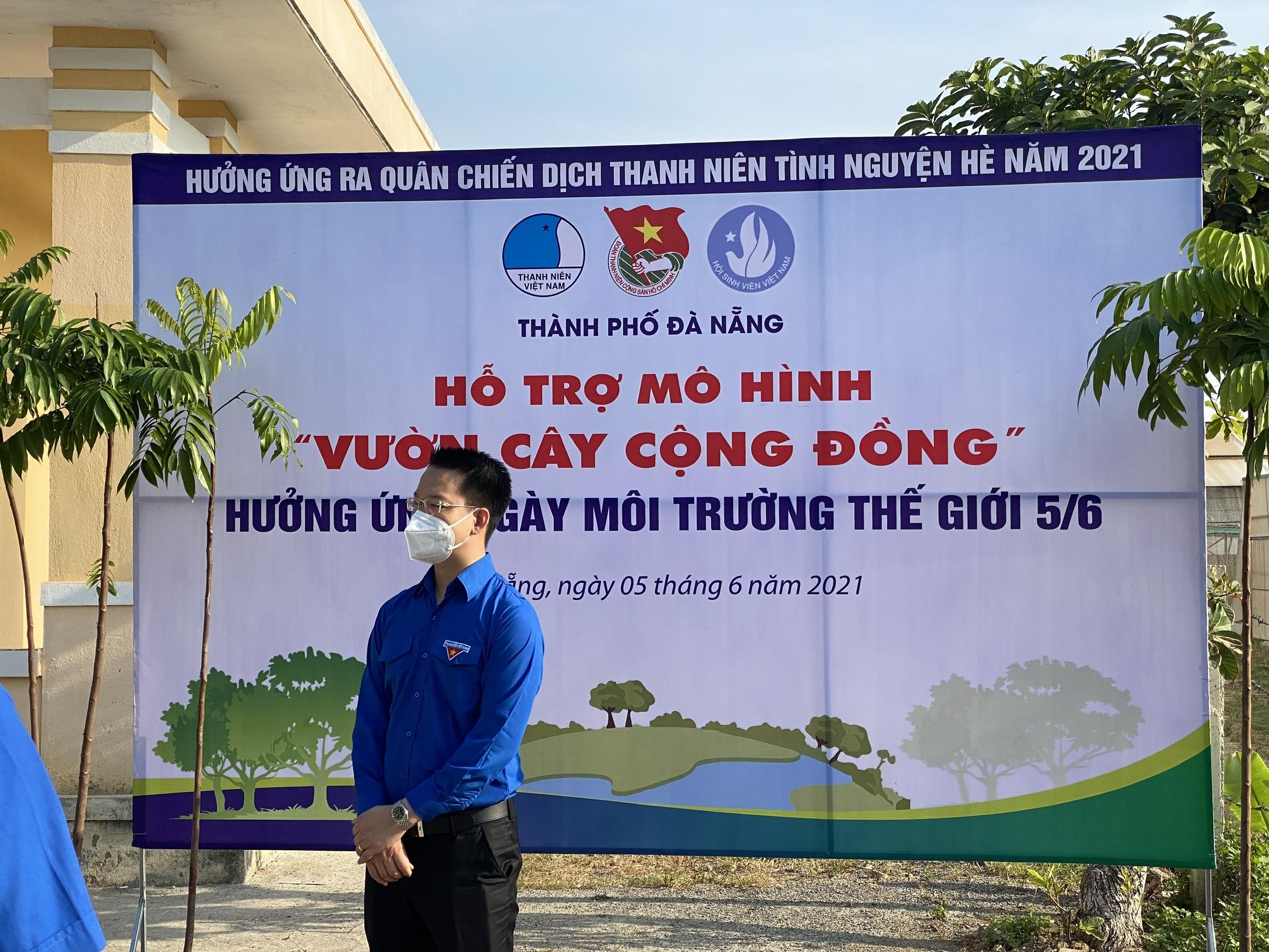 Thành Đoàn Đà Nẵng phát động hoạt động ra quân hưởng ứng Chiến dịch tình nguyện hè năm 2021